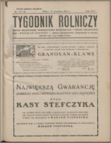 Tygodnik Rolniczy 1932, R. 16 nr 35/36