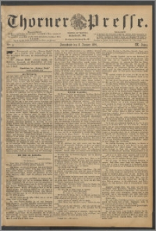 Thorner Presse 1891, Jg. IX, Nro. 2