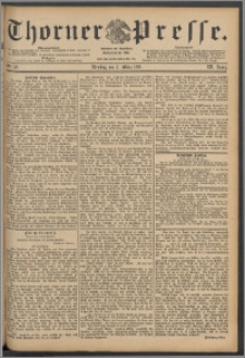 Thorner Presse 1891, Jg. IX, Nro. 52 + Beilagenwerbung
