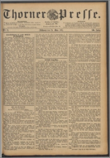 Thorner Presse 1891, Jg. IX, Nro. 71
