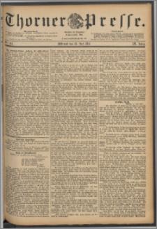 Thorner Presse 1891, Jg. IX, Nro. 162
