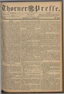 Thorner Presse 1891, Jg. IX, Nro. 205