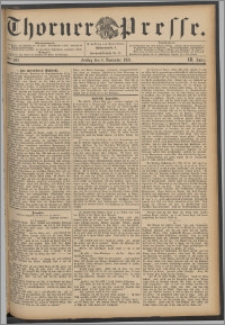 Thorner Presse 1891, Jg. IX, Nro. 260