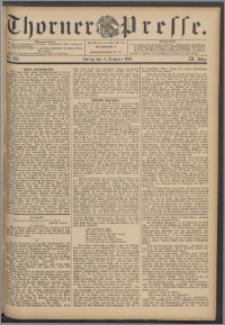 Thorner Presse 1891, Jg. IX, Nro. 284