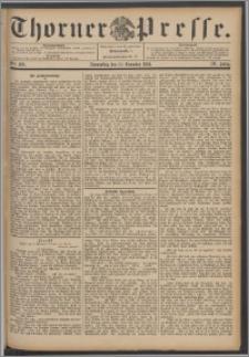 Thorner Presse 1891, Jg. IX, Nro. 289