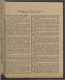 Thorner Presse: 4 Klasse 184. Königl. Preuß. Lotterie 29 Juni 1891 12. Tag