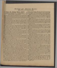 Thorner Presse: 4 Klasse 185. Königl. Preuß. Lotterie 28 November 1891 11. Tag