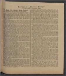 Thorner Presse: 4 Klasse 185. Königl. Preuß. Lotterie 3 Dezember 1891 15. Tag