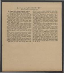 Thorner Presse: 4 Klasse 185. Königl. Preuß. Lotterie 5 Dezember 1891 17. Tag