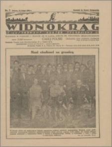 Widnokrąg : ilustrowany kurier tygodniowy, 1926.02.13 nr 7