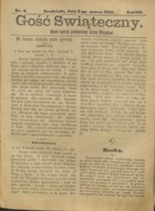 Gość Świąteczny 1902.03.02 R. VIII nr 9