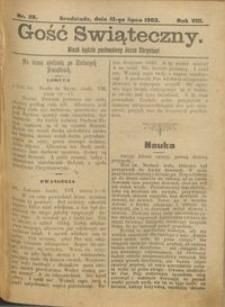 Gość Świąteczny 1902.07.13 R. VIII nr 28