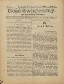 Gość Świąteczny 1903.08.31 R. IX nr 31
