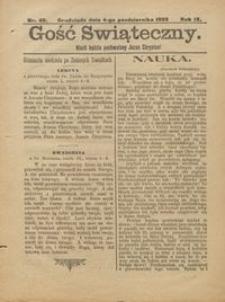 Gość Świąteczny 1903.10.04 R. IX nr 40