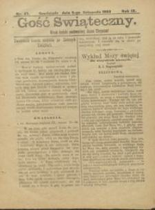 Gość Świąteczny 1903.11.08 R. IX nr 45
