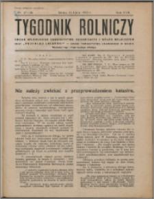 Tygodnik Rolniczy 1933, R. 17 nr 27/28