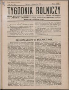 Tygodnik Rolniczy 1933, R. 17 nr 41/42