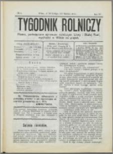 Tygodnik Rolniczy 1914, R. 4 nr 9