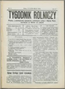Tygodnik Rolniczy 1914, R. 4 nr 11