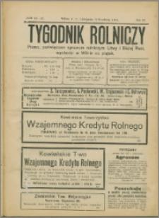 Tygodnik Rolniczy 1914, R. 4 nr 46/47