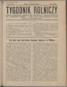 Tygodnik Rolniczy 1934, R. 18 nr 31/32