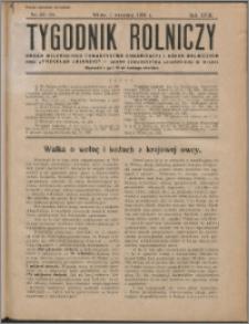 Tygodnik Rolniczy 1934, R. 18 nr 33/34