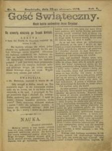 Gość Świąteczny 1905.01.29 R. X nr 5