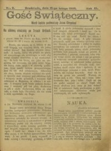 Gość Świąteczny 1905.02.19 R. XI nr 8