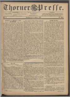 Thorner Presse 1892, Jg. X, Nro. 8 + Beilage, Beilagenwerbung