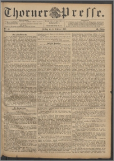 Thorner Presse 1892, Jg. X, Nro. 30
