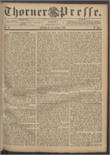 Thorner Presse 1892, Jg. X, Nro. 38 + Beilage, Beilagenwerbung