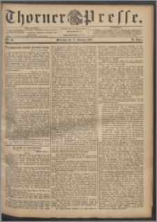 Thorner Presse 1892, Jg. X, Nro. 40