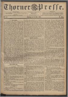 Thorner Presse 1892, Jg. X, Nro. 62 + Beilage