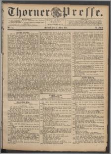 Thorner Presse 1892, Jg. X, Nro. 64 + Beilage, Beilagenwerbung