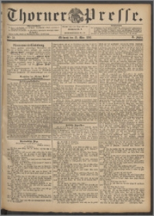 Thorner Presse 1892, Jg. X, Nro. 70