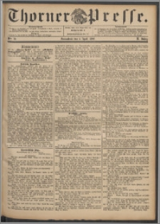 Thorner Presse 1892, Jg. X, Nro. 79
