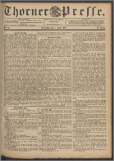 Thorner Presse 1892, Jg. X, Nro. 83 + Beilage