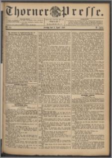 Thorner Presse 1892, Jg. X, Nro. 84