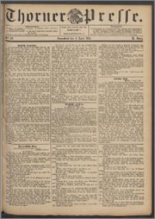 Thorner Presse 1892, Jg. X, Nro. 85