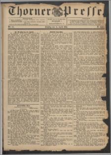 Thorner Presse 1892, Jg. X, Nro. 87
