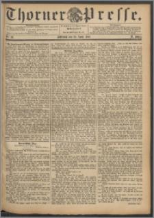 Thorner Presse 1892, Jg. X, Nro. 92