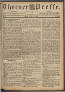 Thorner Presse 1892, Jg. X, Nro. 96 + Beilage