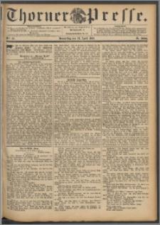 Thorner Presse 1892, Jg. X, Nro. 99