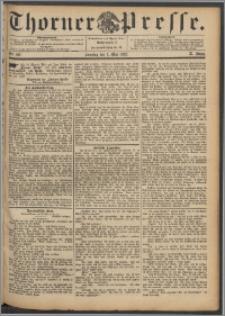 Thorner Presse 1892, Jg. X, Nro. 102 + Beilage, Extrablatt