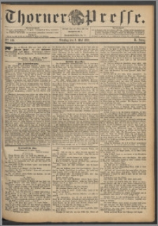 Thorner Presse 1892, Jg. X, Nro. 103