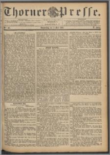 Thorner Presse 1892, Jg. X, Nro. 105