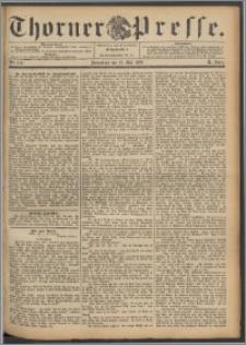Thorner Presse 1892, Jg. X, Nro. 118