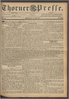 Thorner Presse 1892, Jg. X, Nro. 121