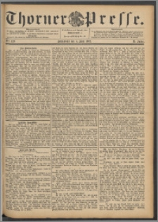 Thorner Presse 1892, Jg. X, Nro. 129