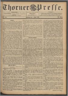 Thorner Presse 1892, Jg. X, Nro. 130 + Beilage
